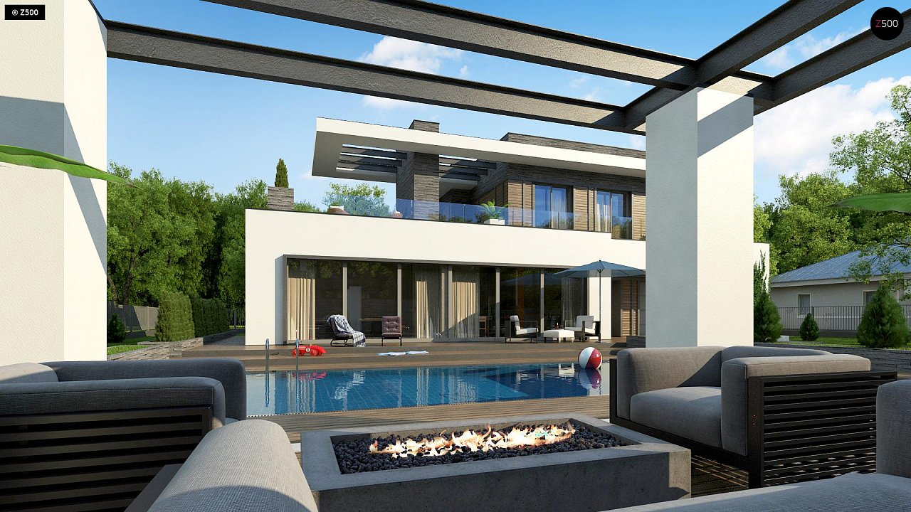 Проект будинку Zx146 - 1
