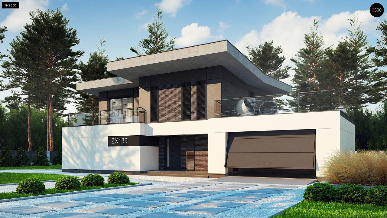 Проект будинку Zx139 - 1