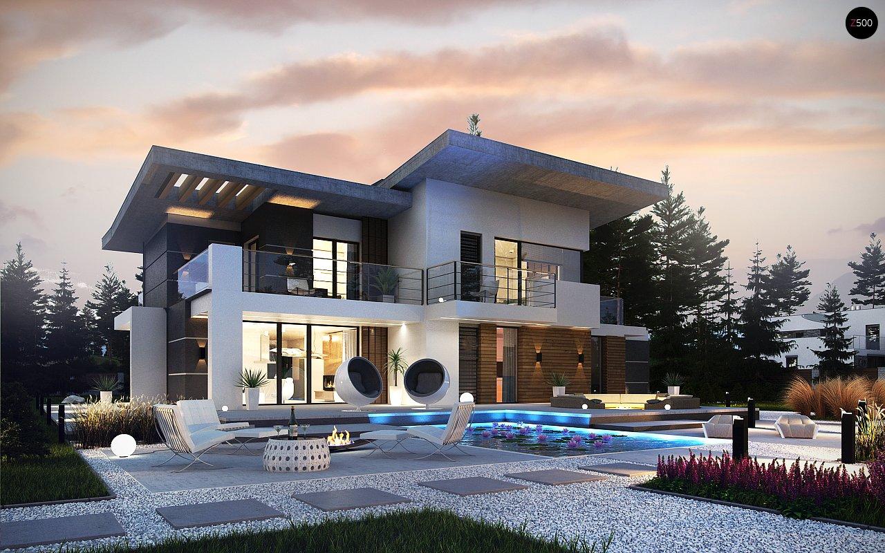 Проект будинку Zx22 - 1