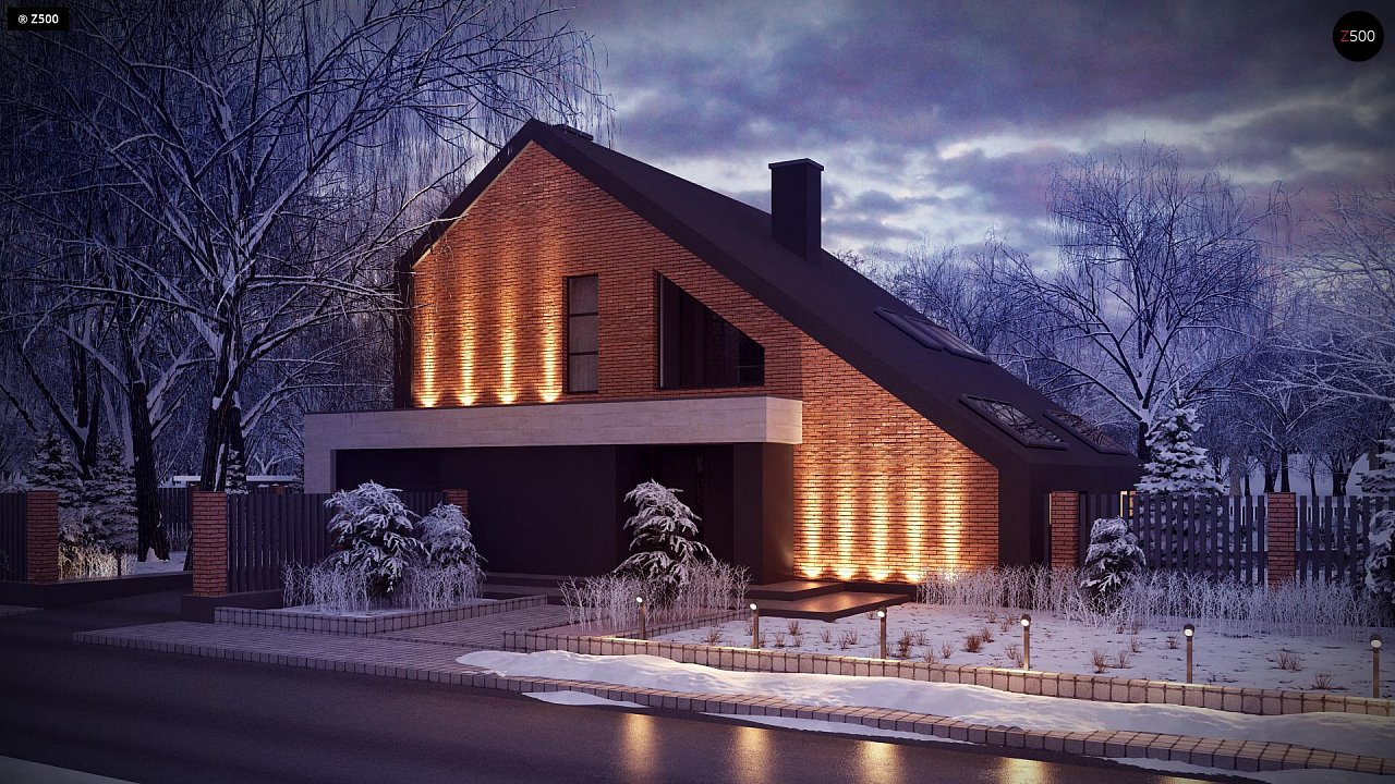 Проект будинку Zx95 - 1