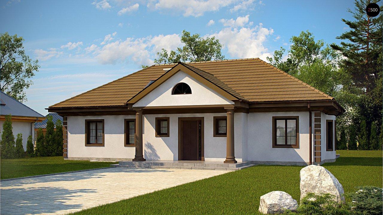 Проект будинку Z2 + w p - 1