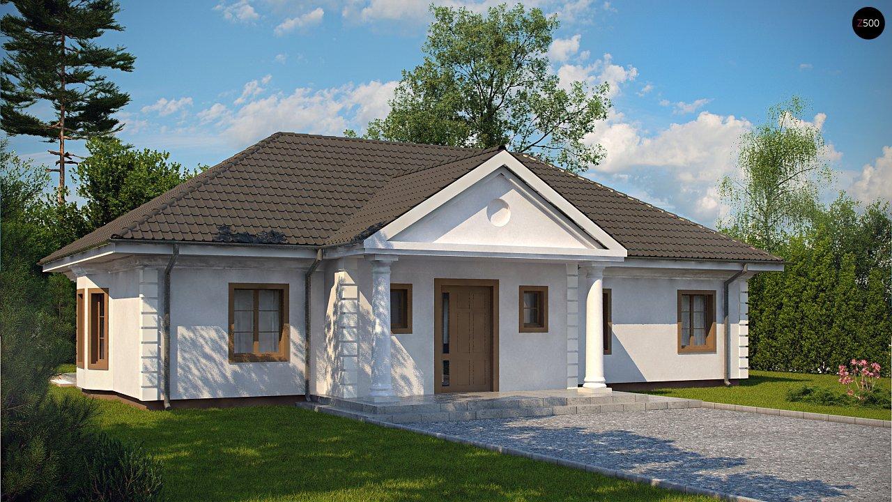 Проект будинку Z2 L + w - 1