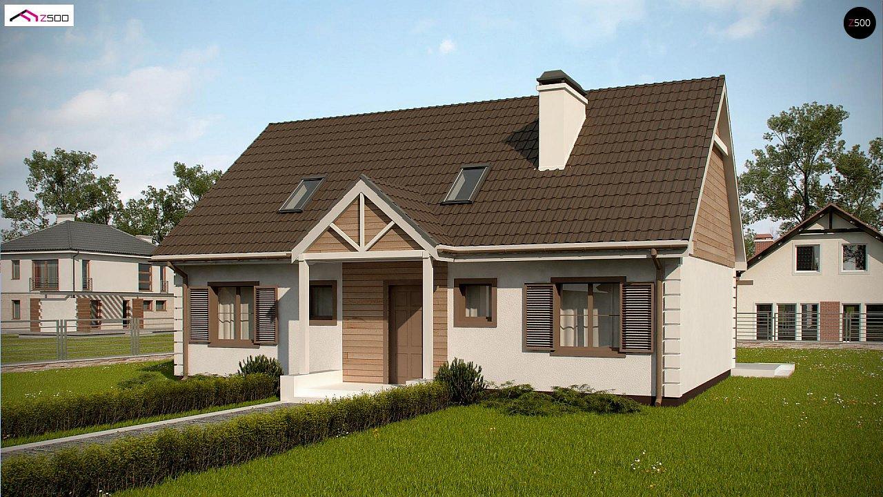 Проект будинку Z8 B 40 - 1