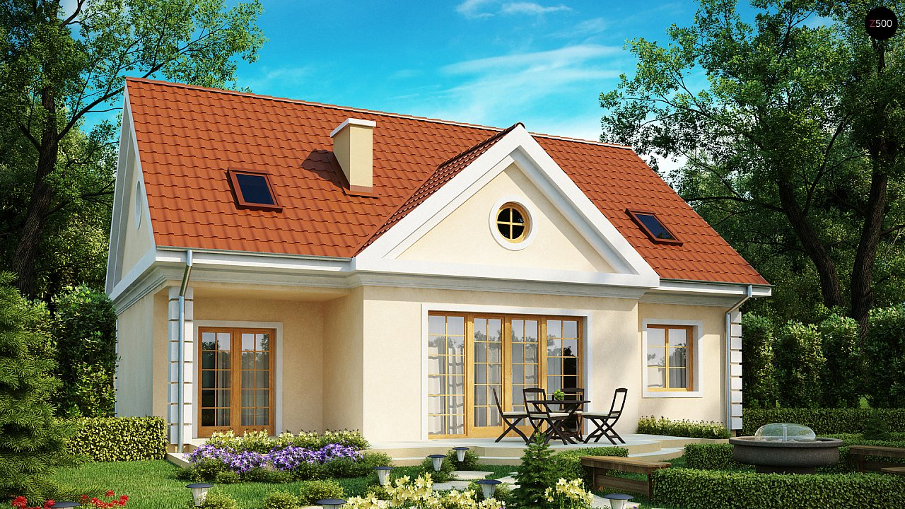 Проект будинку Z9 - 1