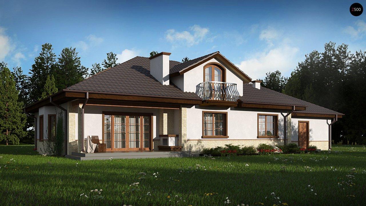 Проект будинку Z10 GL2 STU bk - 1