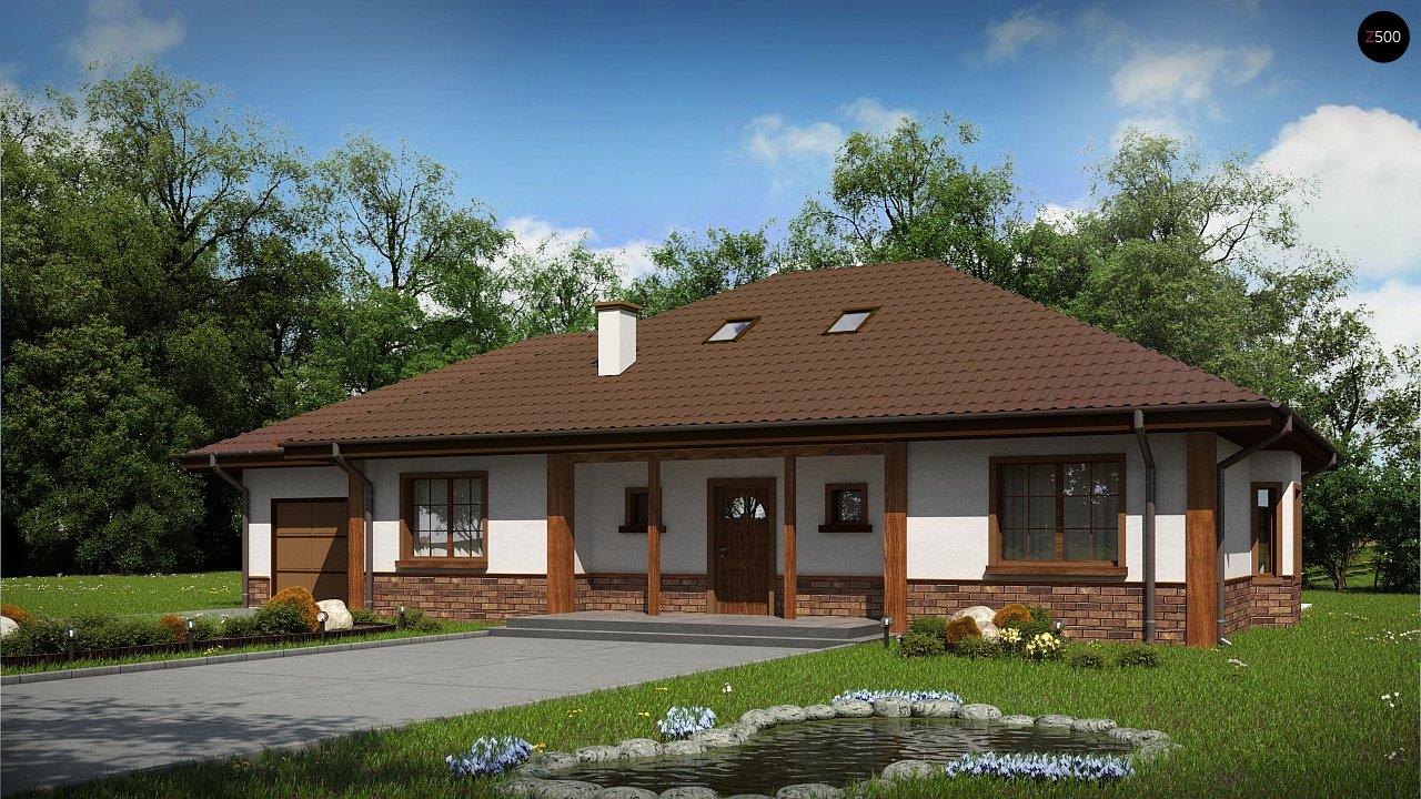 Проект будинку Z10 D sdu GL - 1