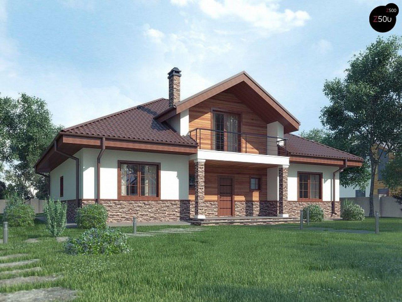 Проект будинку Z10 stu bk minus - 1