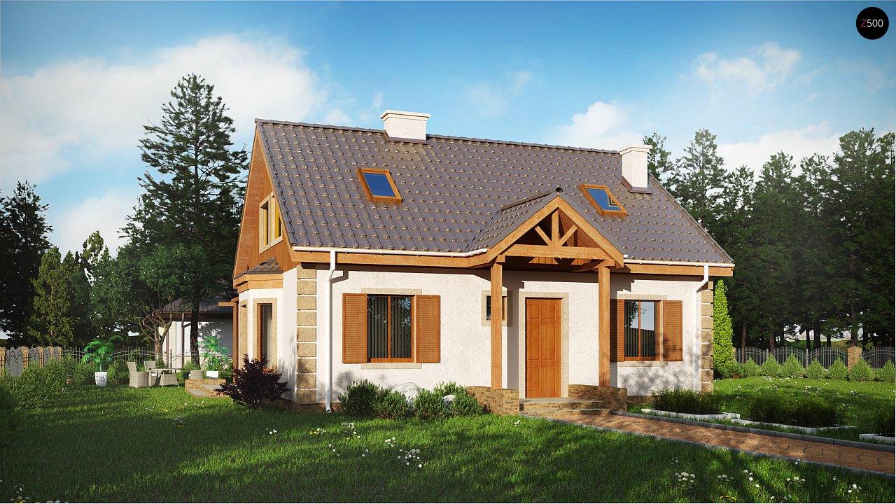 Проект будинку Z14 w - 1