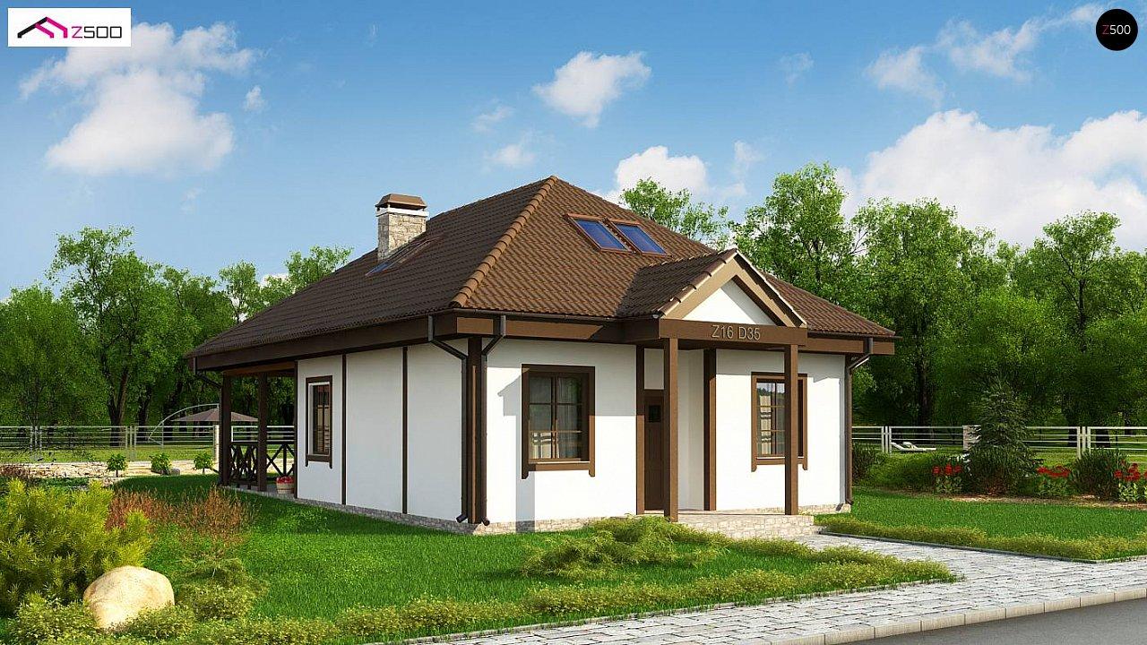Проект будинку Z16 D 35 - 1