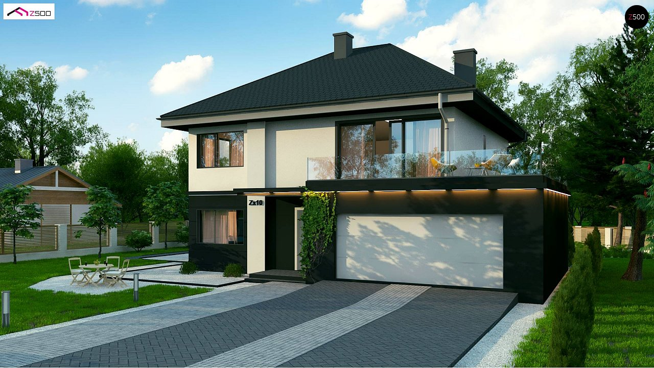 Проект будинку Zx10 - 1