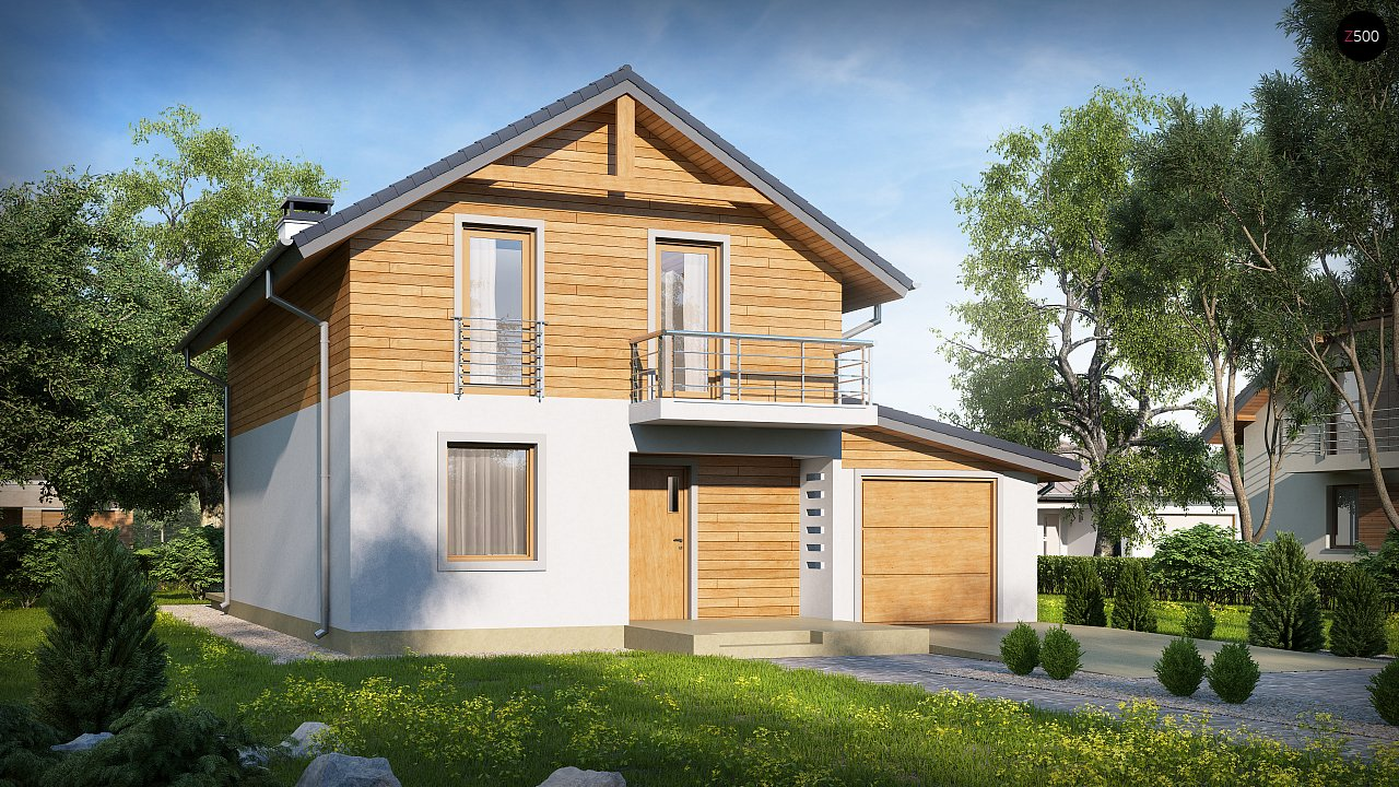 Проект будинку Z38 D GP - 1