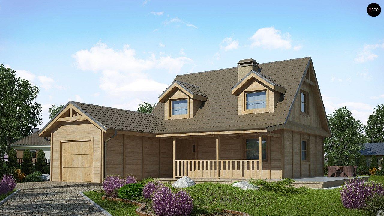 Проект будинку Z39 B GF lk - 1