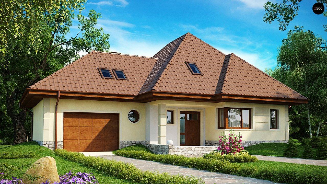 Проект будинку Z48 - 1