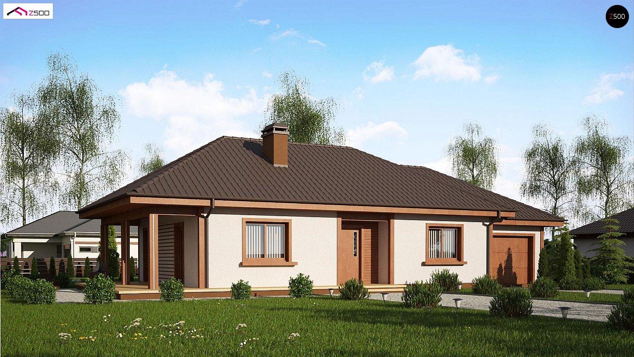 Проект будинку Z55 GP - 1