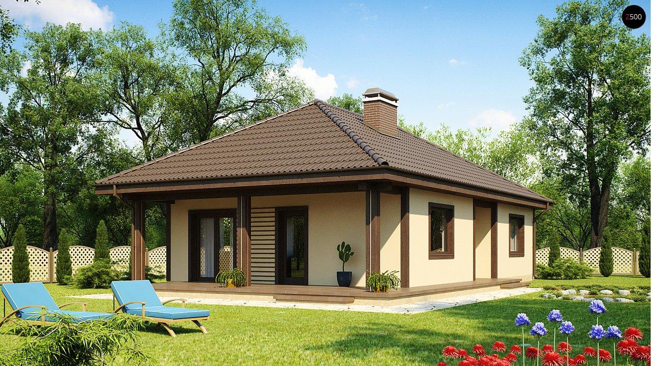 Проект будинку Z55 - 1