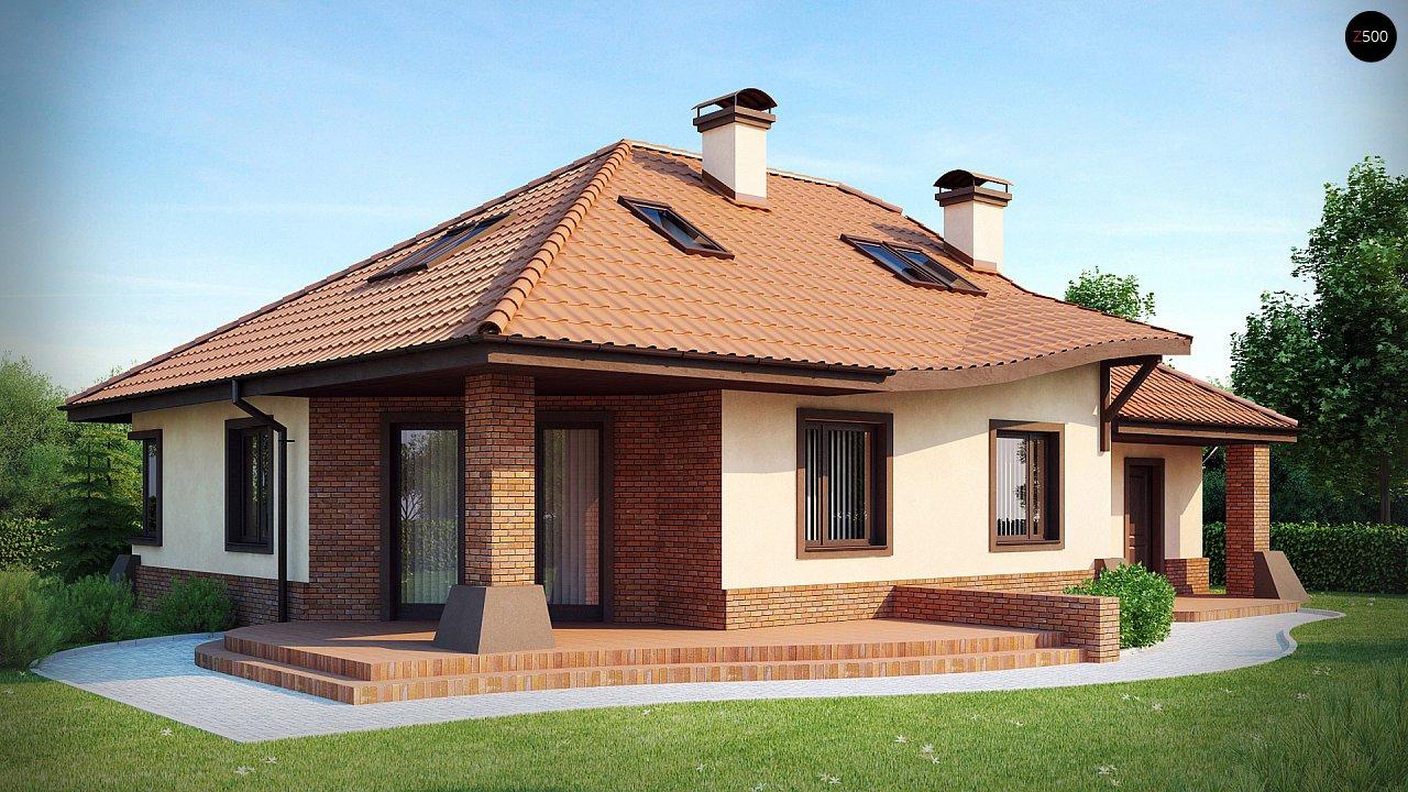 Проект будинку Z56 - 1