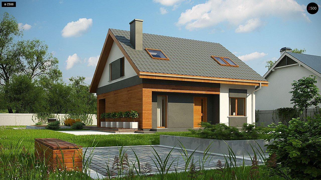 Проект будинку Z62 A minus - 1
