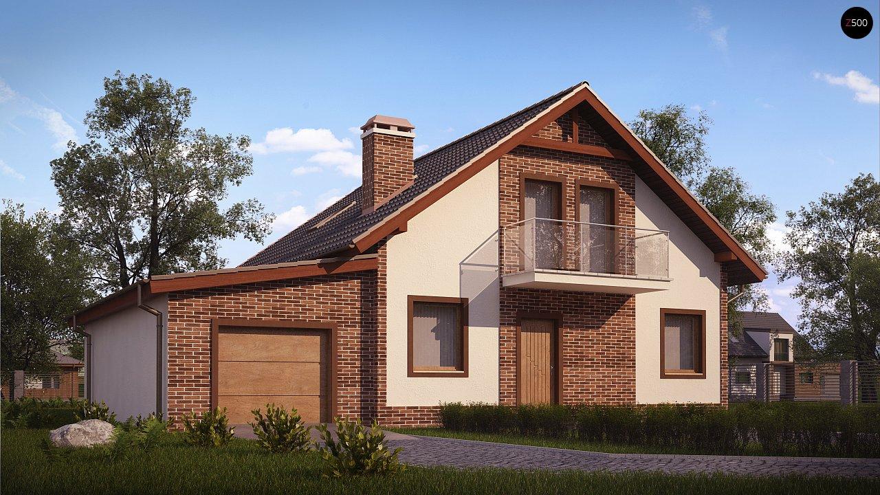 Проект будинку Z63 L GL - 1