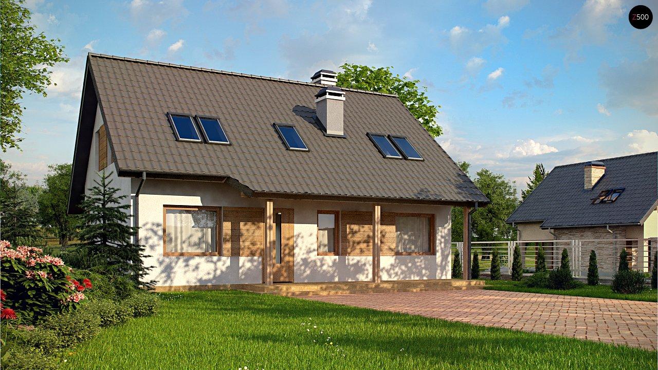 Проект будинку Z66 D zp - 1