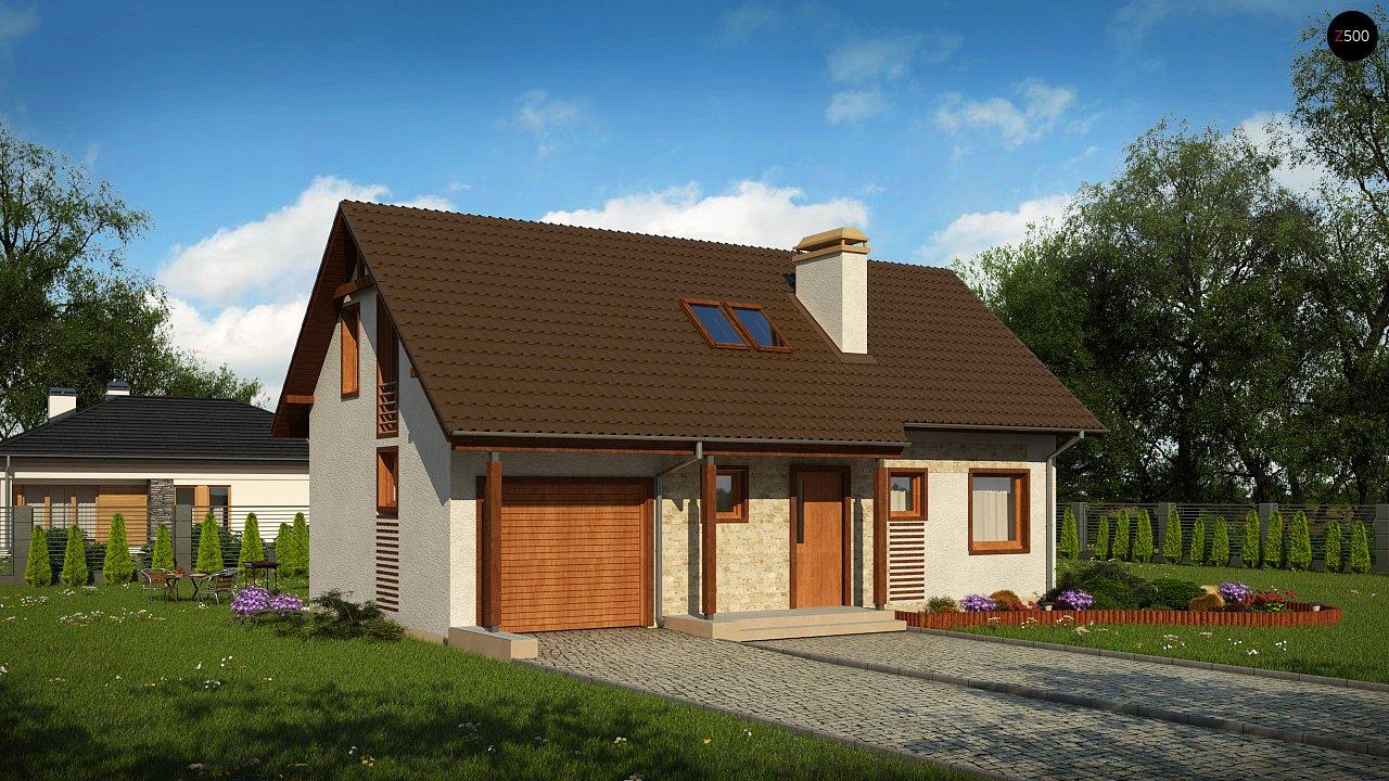 Проект будинку Z71 GL - 1