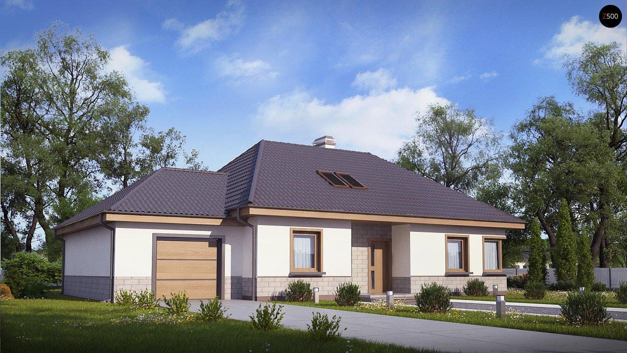 Проект будинку Z84 GL - 1