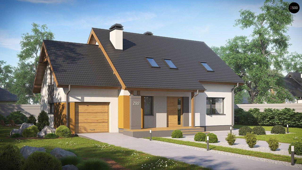 Проект будинку Z92 GL - 1