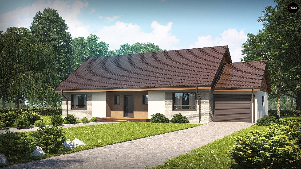 Проект будинку Z98 L GP - 1