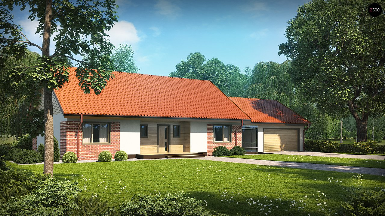 Проект будинку Z98 WP GP2 - 1