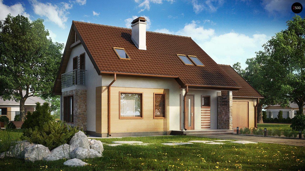 Проект будинку Z102 GP - 1