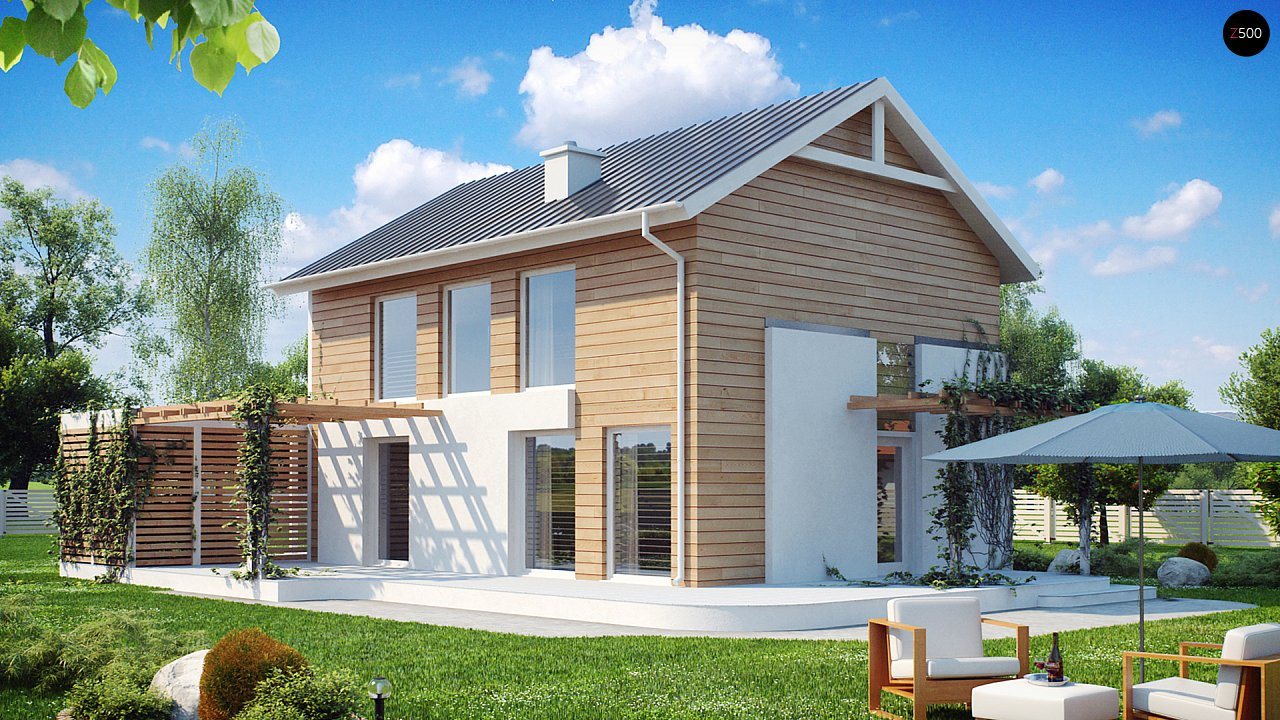 Проект будинку Z115 - 1