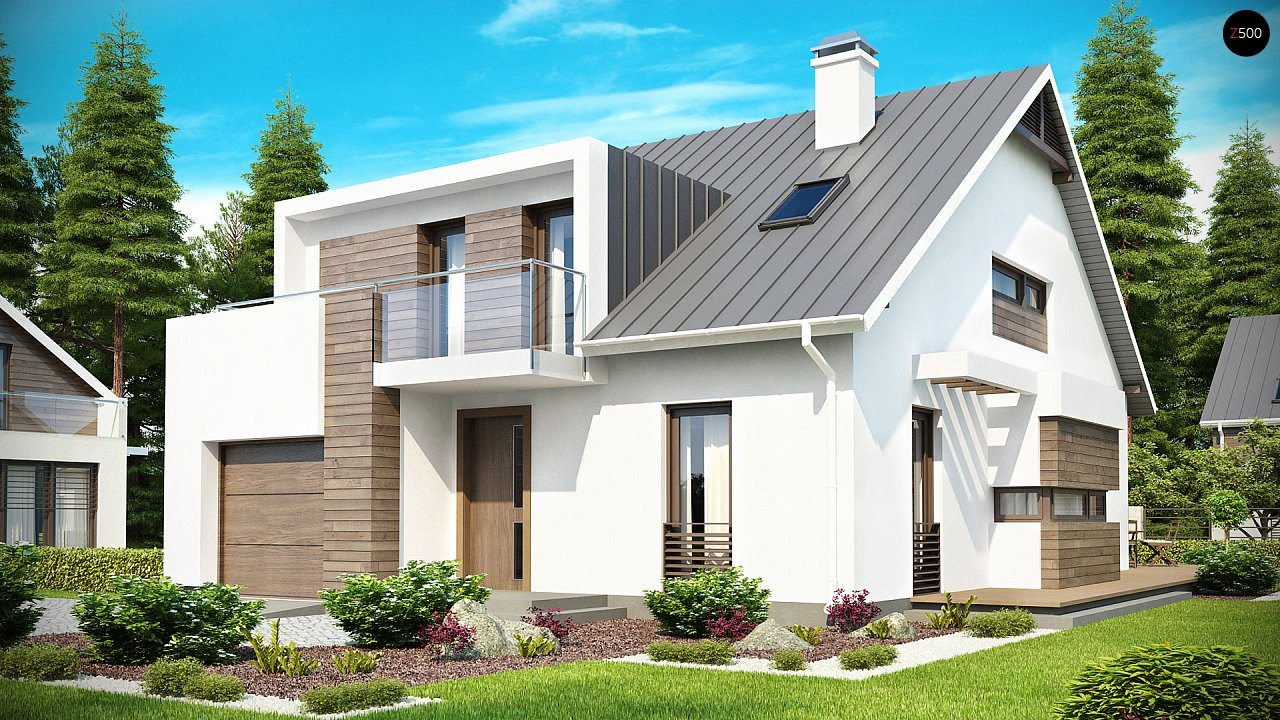 Проект будинку Z116 - 1
