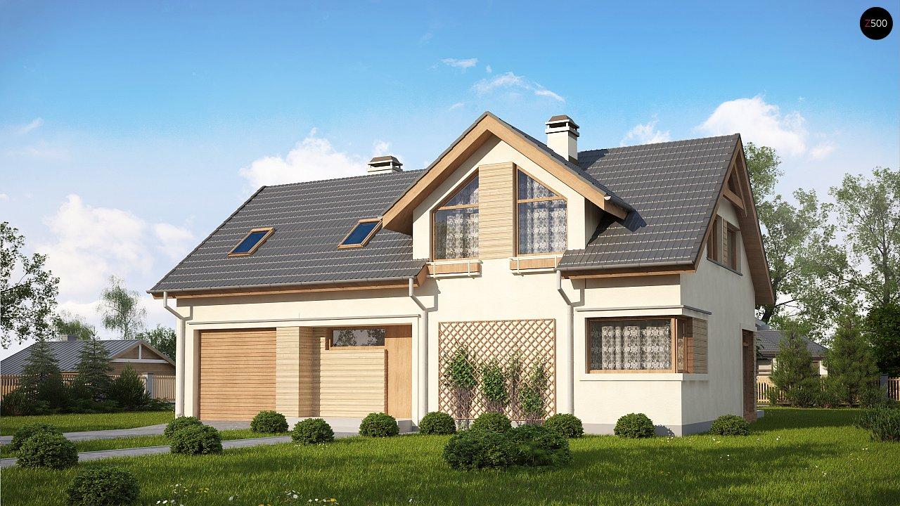 Проект будинку Z122 v2 - 1