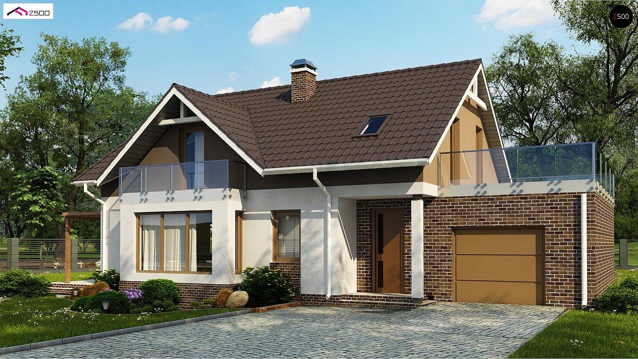 Проект будинку Z128 GP - 1
