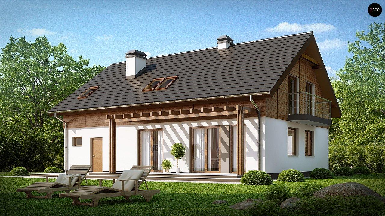 Проект будинку Z130 - 1