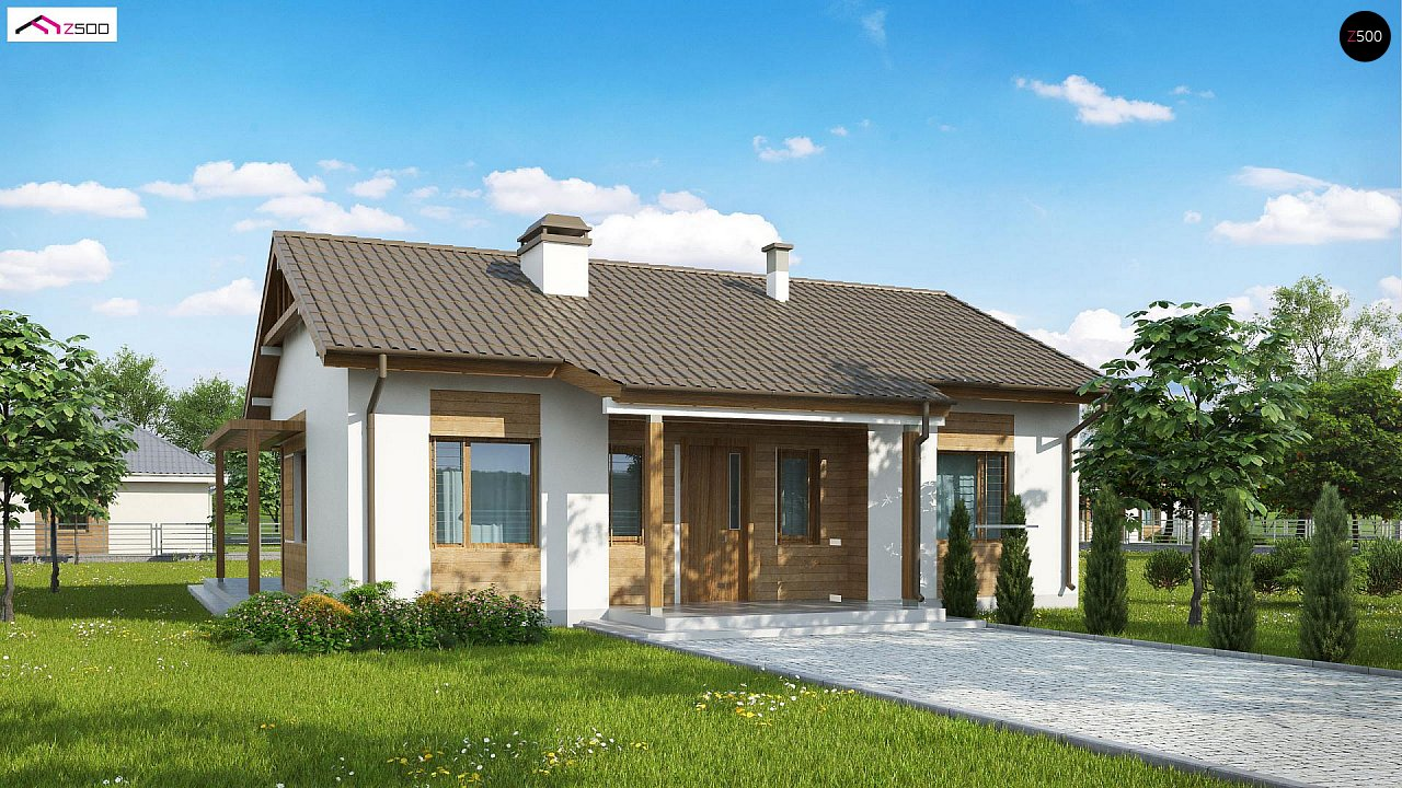 Проект будинку Z136 minus - 1