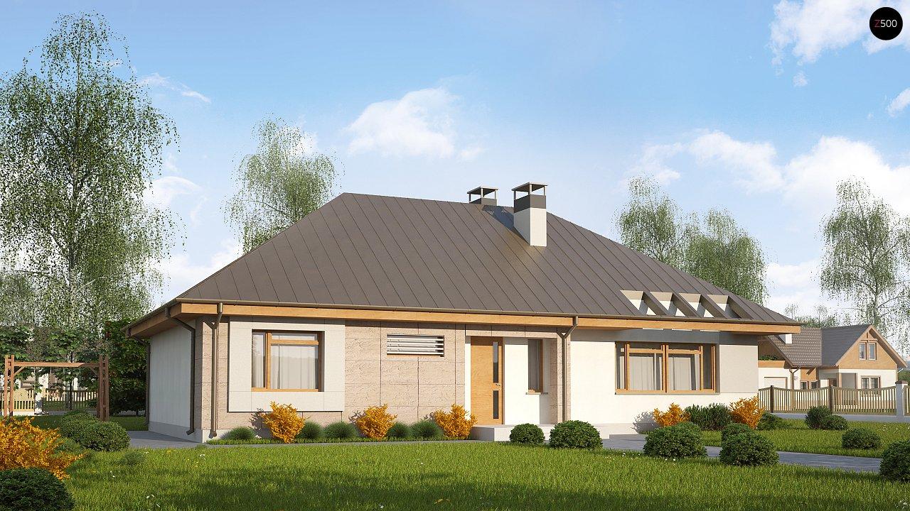 Проект будинку Z140 v1 - 1