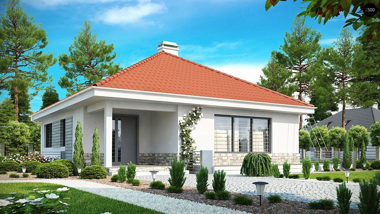 Проект будинку Z141 - 1