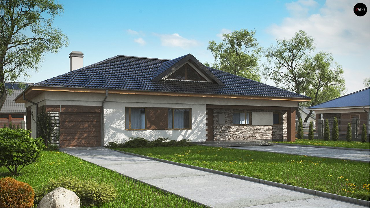 Проект будинку Z153 GL - 1