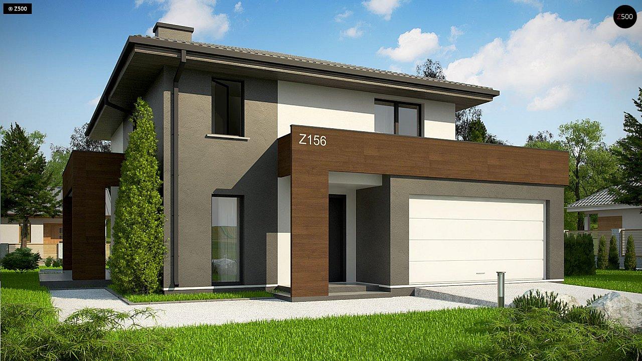 Проект будинку Z156 A minus - 1