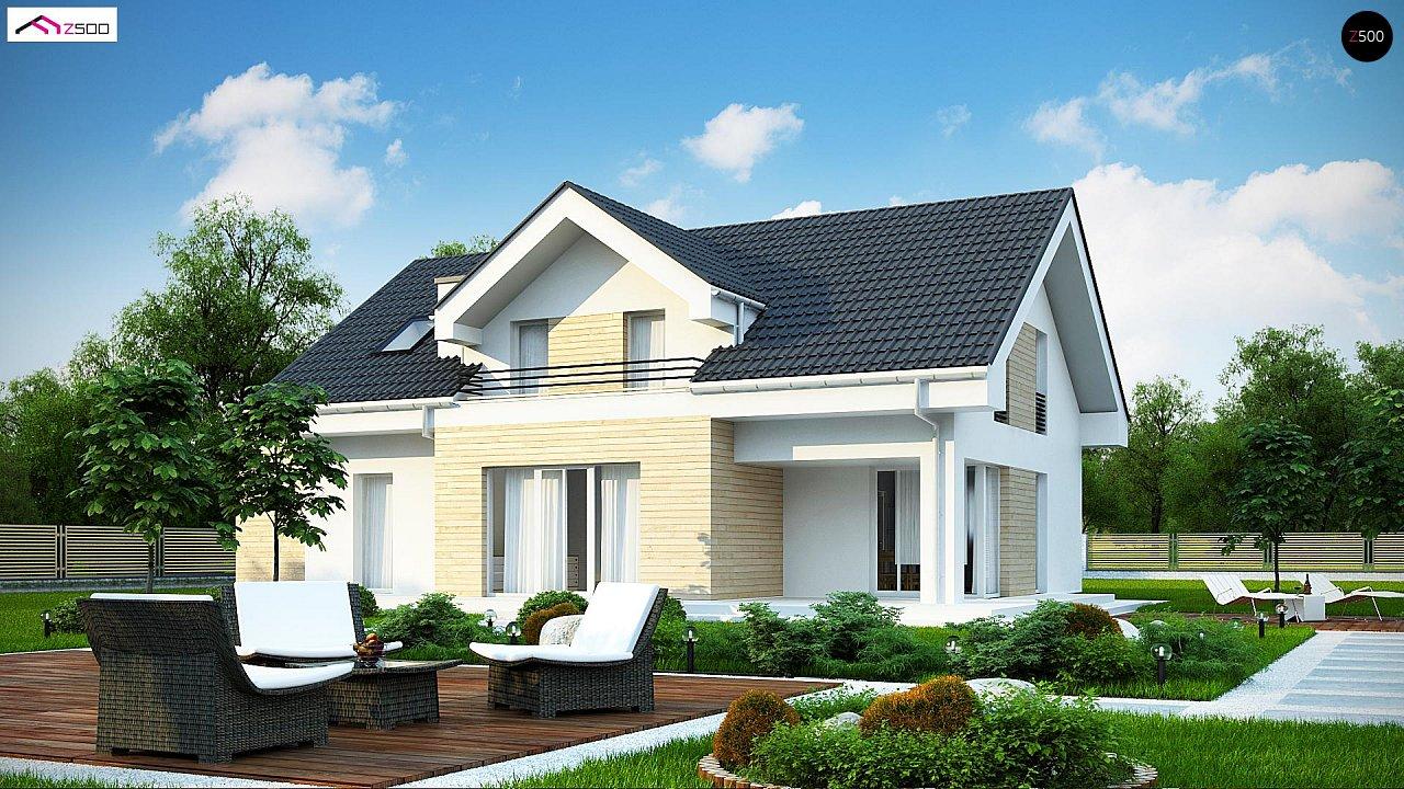 Проект будинку Z160 A GP - 1