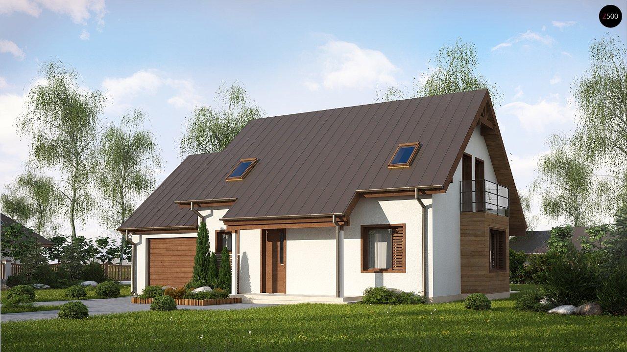Проект будинку Z162 GLv2 - 1