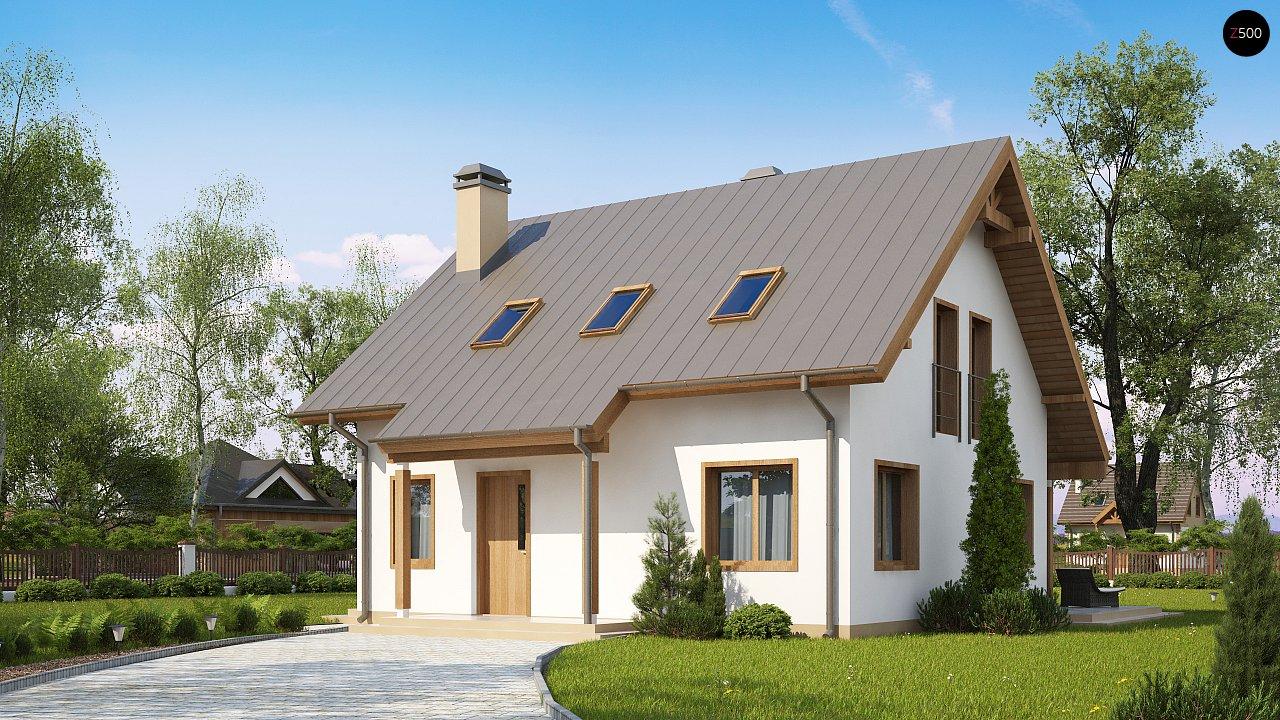 Проект будинку Z162 v3 - 1