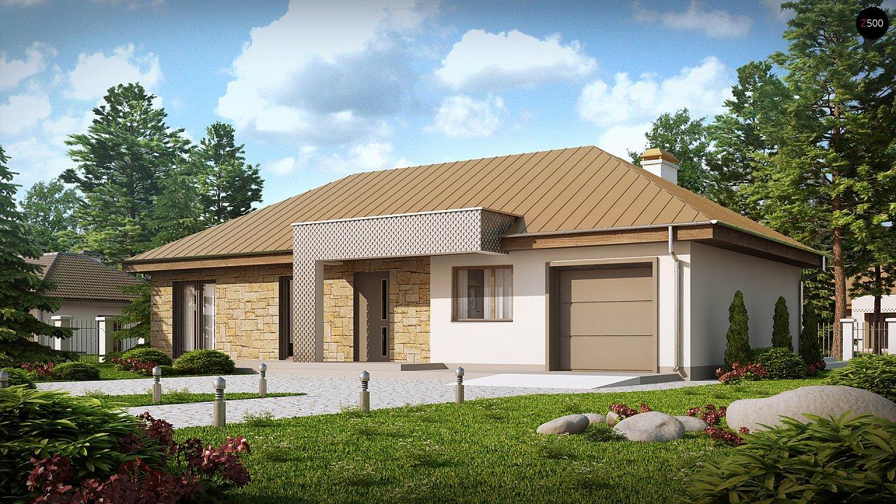 Проект будинку Z165 - 1