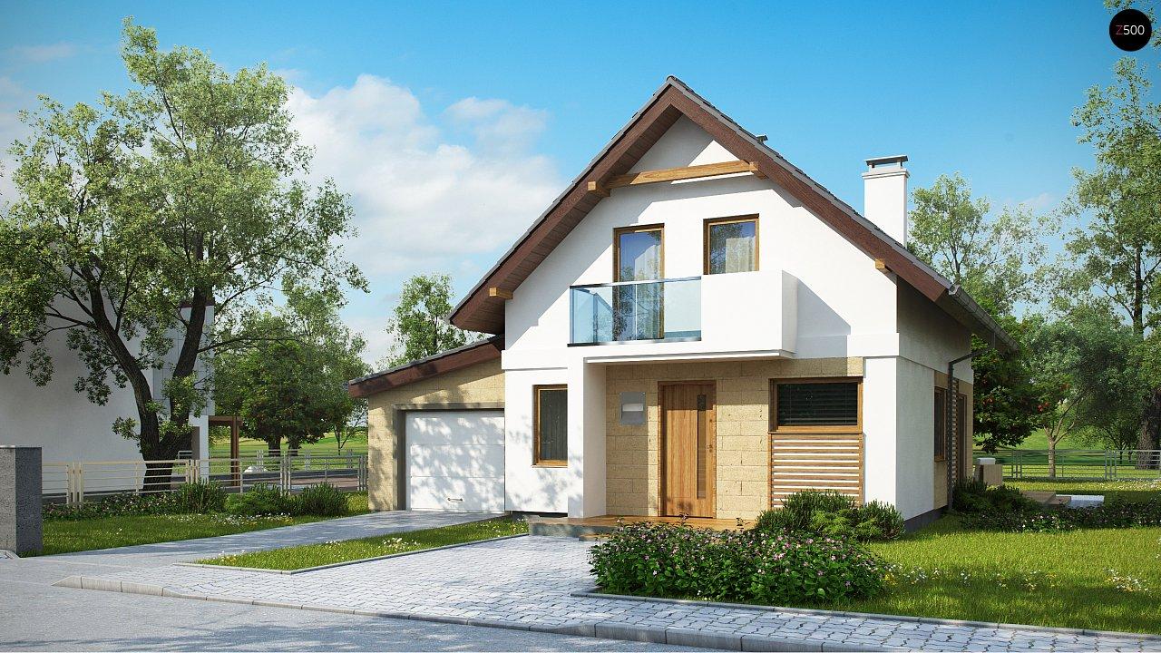 Проект будинку Z177 GL - 1