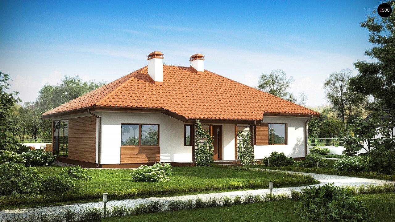 Проект будинку Z185 - 1