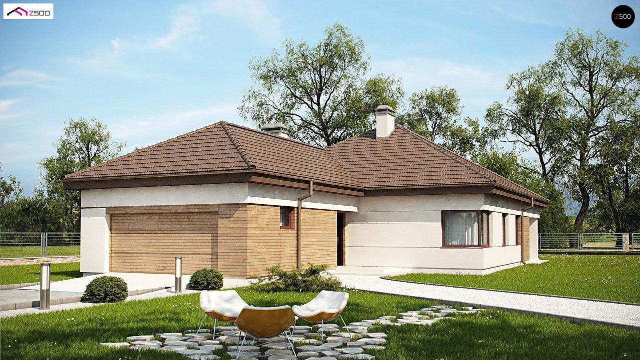 Проект будинку Z195 GF2 HB - 1