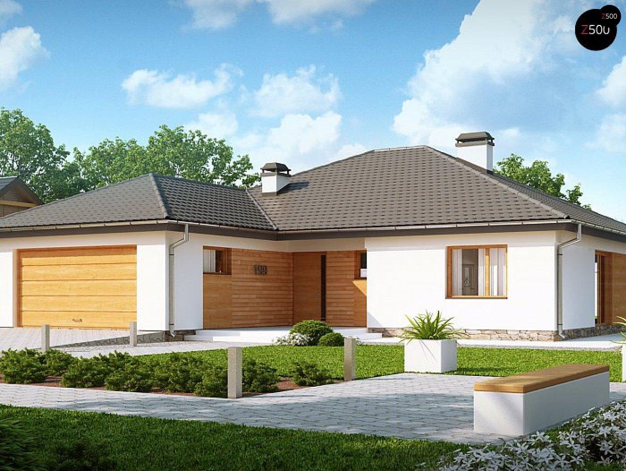 Проект будинку Z199 v1 - 1