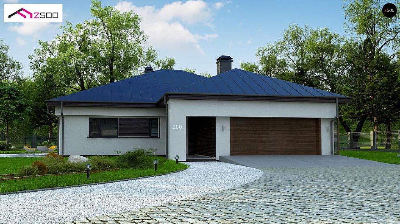 Проект будинку Z200 L + 100 - 1