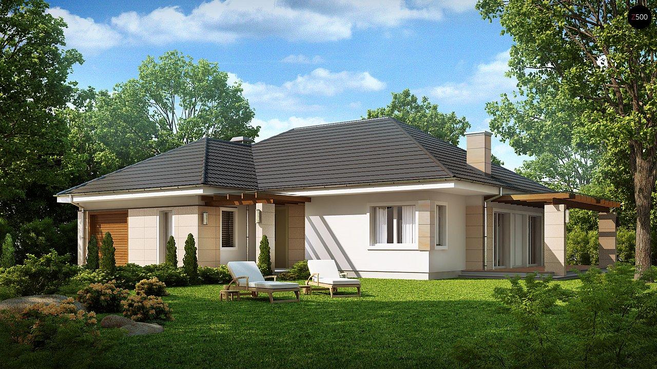 Проект будинку Z201 - 1