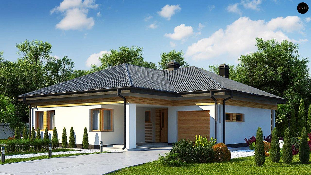 Проект будинку Z204 GP - 1
